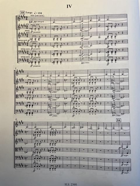Studying the Shostakovich score
